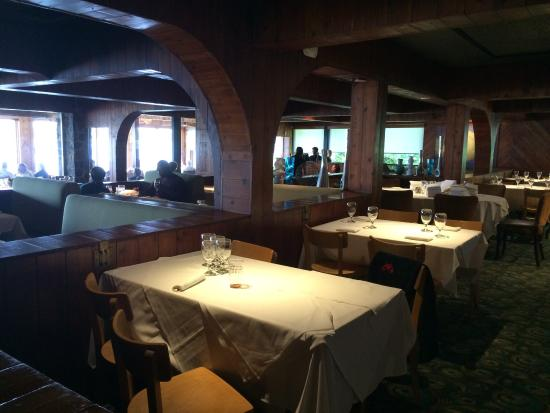 River Crab: You'll enjoy the view & the timeless interior