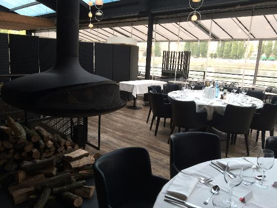 La terrasse photo de o restaurant levallois perret for Restaurant avec terrasse ile de france