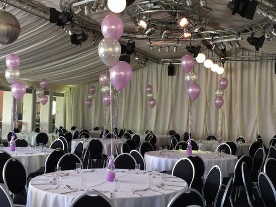 Sturmer, UK: Permanent Marquee setup for our 25th Wedding Anniversay