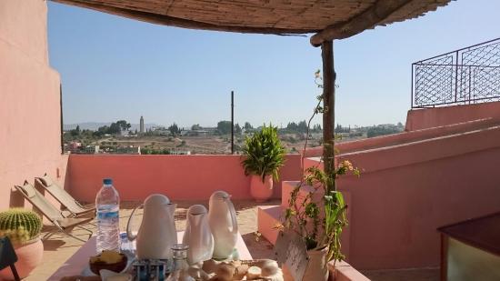 Riad Anne de Meknes: Dachterrasse