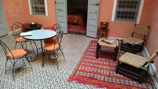 Riad Anne de Meknes: Innenhof
