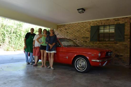 The Savoy Bed and Breakfast: La Ford Mustang 1965 de Rodney