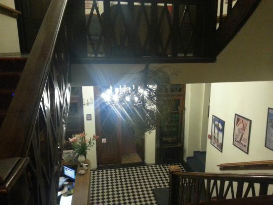 Villa Carlton: Interior del hotel