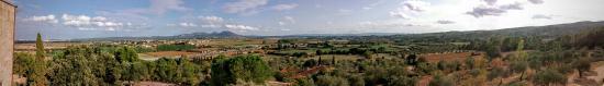 Albons, España: Vistas desde el hotel