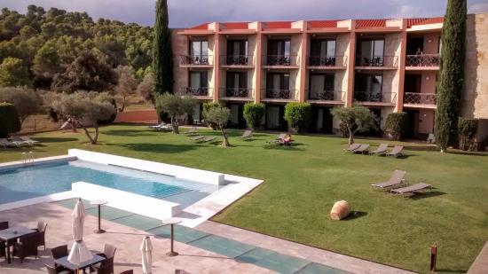 Albons, Spanyol: Zona de la piscina