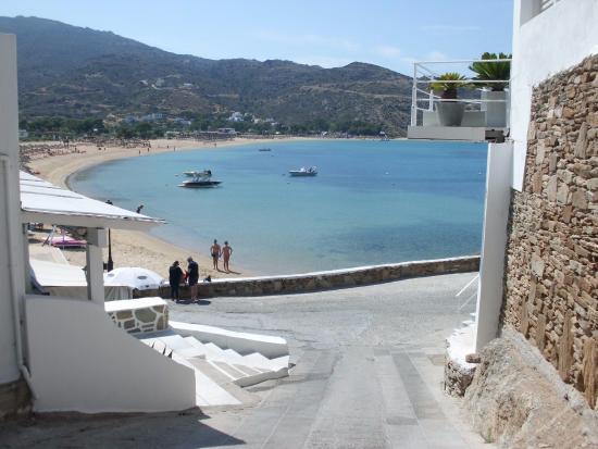 Ios Palace Hotel: il mare a due passi dall'hotel