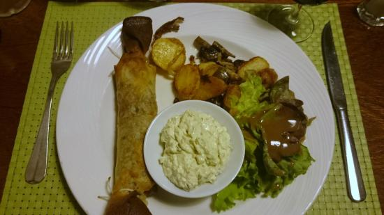 Bistrot du terroir : Croustillant de Tête de veau sauce gribiche