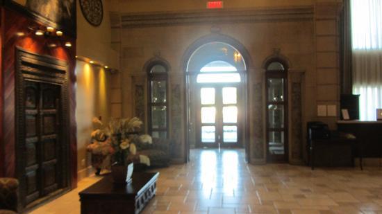 Hotel Brossard: hall de l'hôtel