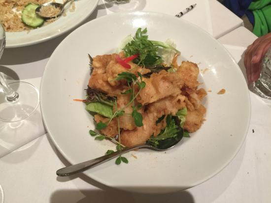 SPICY GARLIC CHILLI PEPPER PRAWN - Picture of Thai Naan, Chatswood ...