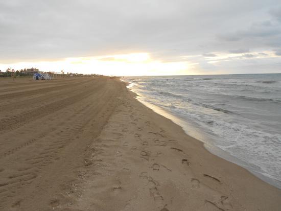 Beach Castelldelfels Barcelona
