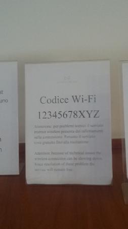 CiampinoHotel: Wi-Fi