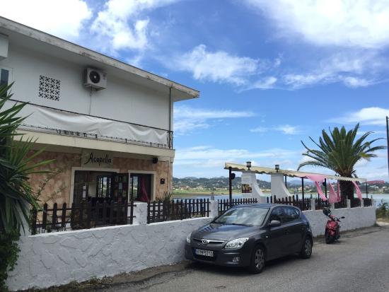 Kanoni, Greece: Acapella Cafe