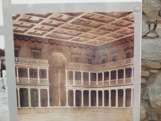 simulation of interior prior to destruction - Picture of ...