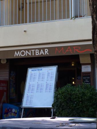 Restaurante Montbar Mar