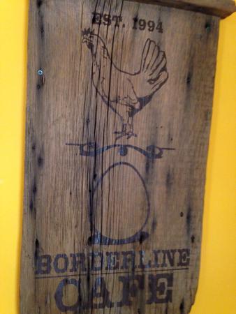 Borderline Cafe: Southwest style cuisine