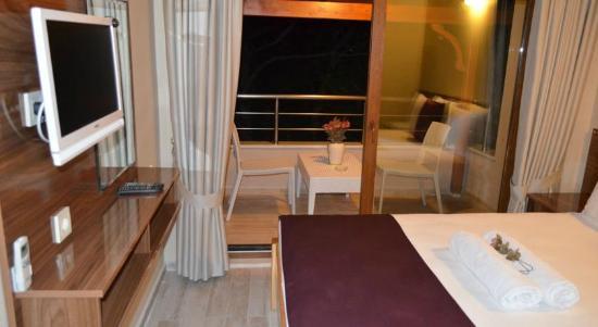 Marmara Island, Tyrkia: Otel Ada Palas,Deniz Manzaralı Çift Kişilik Oda