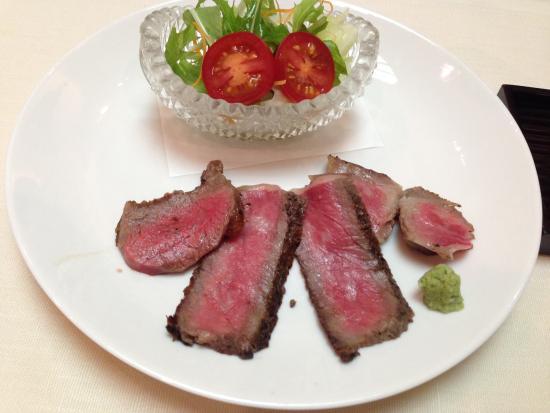 Sushi Taka Ebisu: ローストビーフ