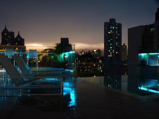 Best Western Plus Panama Zen Hotel La Vista Lindo Aterdecer Desde El Piso