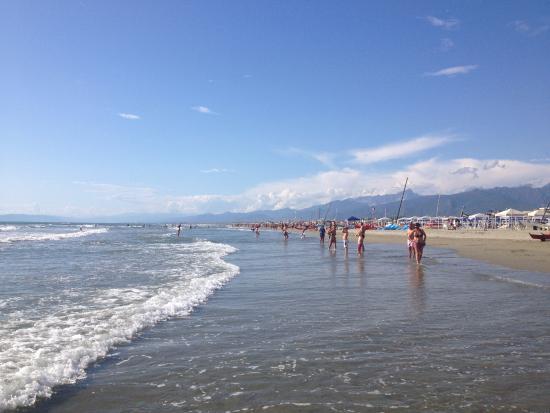 The beach at Lido di Camaiore - Picture of Bagno Brunella e Ada ...