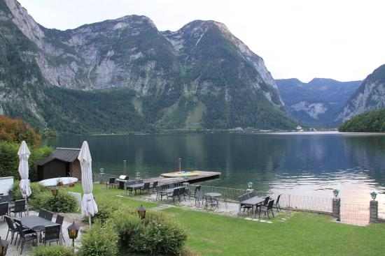 Hotel haus am see view from the room
