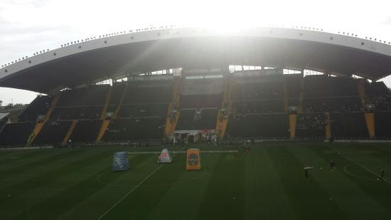 Stadio Friuli (Dacia Arena): Quasi completo. Adesso c'è