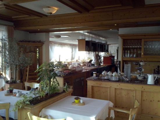 Tengen, Jerman: Salle et bar du petit déjeuner