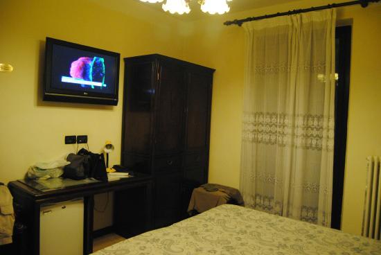 hotel cortina habitacin