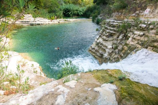 Riserva Naturale Orientata Cavagrande del Cassibile: Laghetti principali