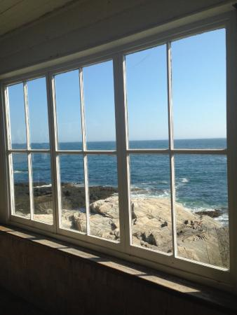 Driftwood Inn and Cottages: View from the library