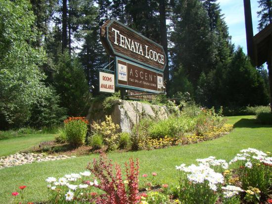Front entrance picture of tenaya lodge at yosemite fish for Fish camp lodging