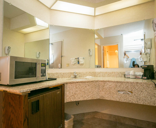 The King Suite at the Baymont Inn & Suites Grand Rapids Airport