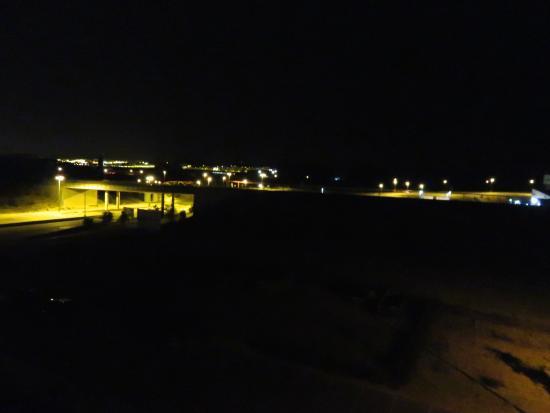 Tulip Inn Plaza Feria: Uitzicht vanaf de hotelkamer.