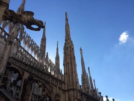 Vedute delle terrazze del Duomo - Foto di Duomo di Milano, Milano ...