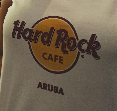 Hard Rock Cafe Aruba T Shirt