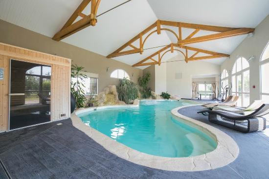 Espace piscine sauna hammam bild fr n h tel de la lou e for Espace sauna hammam
