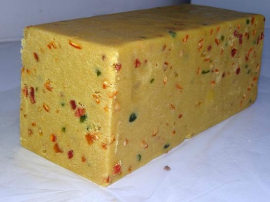 Beton Helva: Meyveli İrmik Helvası