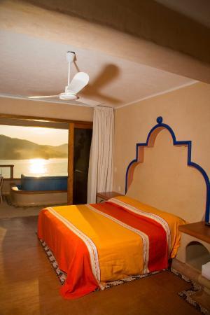 Villa del Pescador: Habitación de Lujo con Jacuzzi y vista al mar