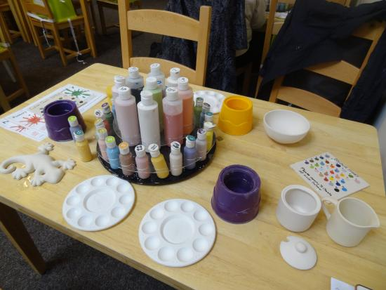 pottery painting 12 picture of center parcs sherwood