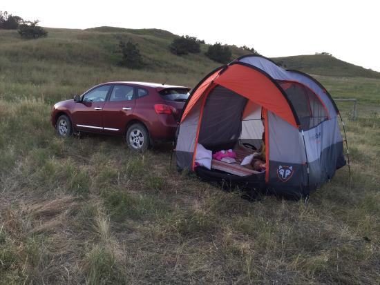 Sage Creek Campground: Primitive campground yet beautiful and secluded. Peaceful under the stars and if fortunate the o