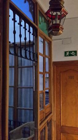 Hostal Austria: Холл отеля