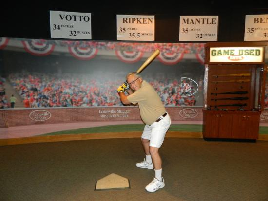 Mickey Mantle bat - Picture of Louisville Slugger Museum