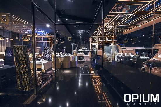 Opium Madrid Restaurant