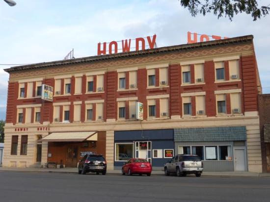 The Howdy Hotel Front