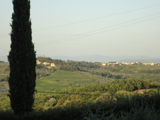 Montespertoli, Włochy: Aussicht 1