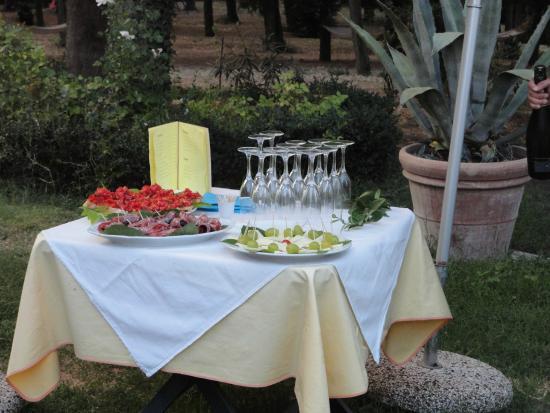 Montespertoli, Italia: Vorspeise