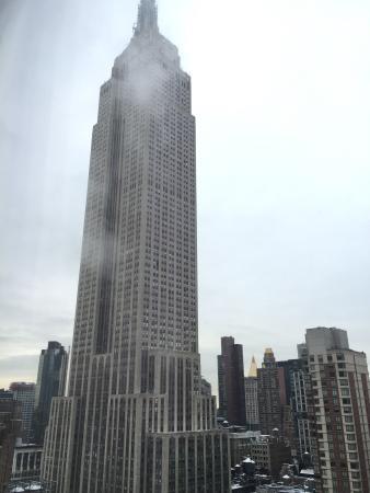 Window View - Hilton Garden Inn New York/West 35th Street Photo