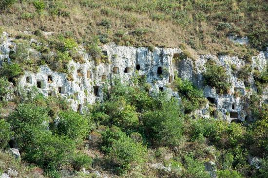 Necropoli di Pantalica: Pantalica e valle dell'Anapo - Necropoli Nord