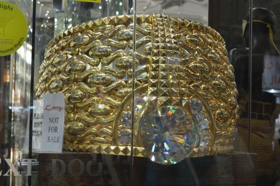 World s Biggest Gold Ring Picture of Gold Souk Dubai TripAdvisor