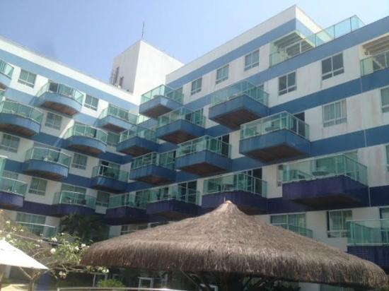Coral Plaza: Fachada interna