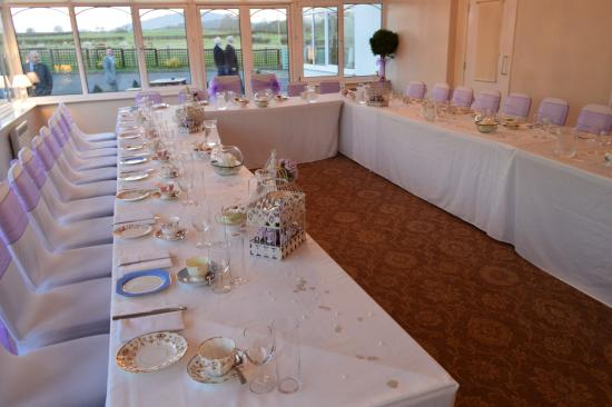 The Conservatory Decorated For Wedding Afternoon Tea Picture Of